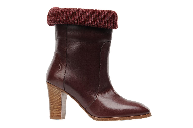 Boots en enkellaarsjes Sonia Rykiel Sepia Bordeaux achterkant