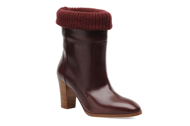 Boots en enkellaarsjes Sonia Rykiel Sepia Bordeaux detail