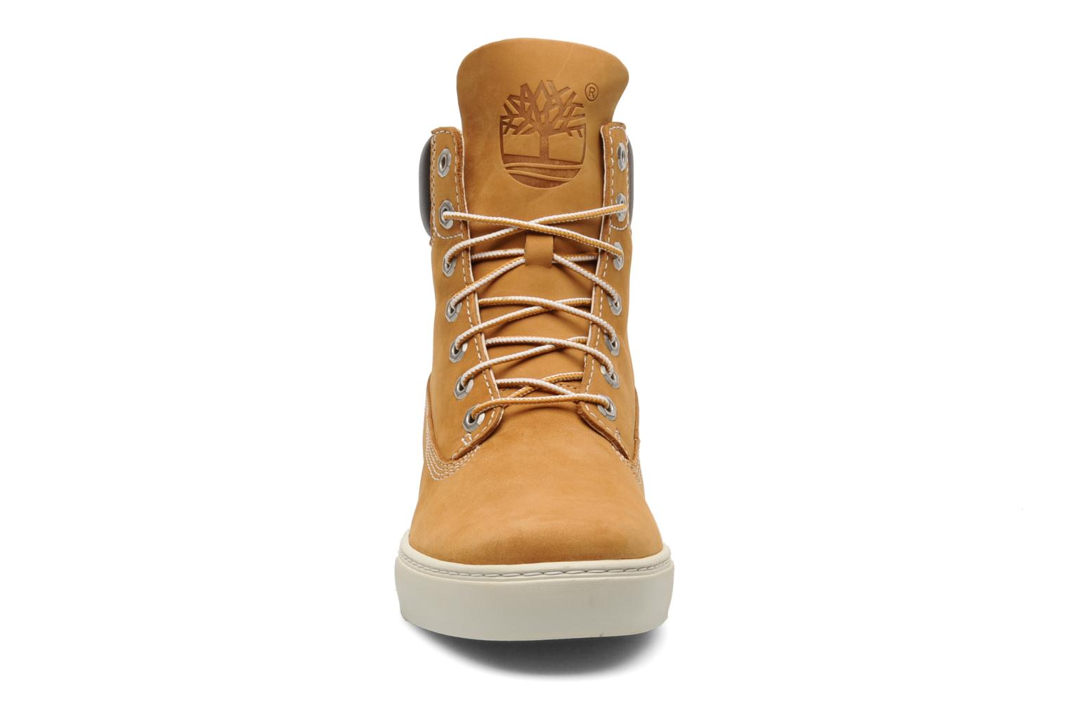 Baskets Timberland 6 In 2.0 Cupsole Beige vue portées chaussures