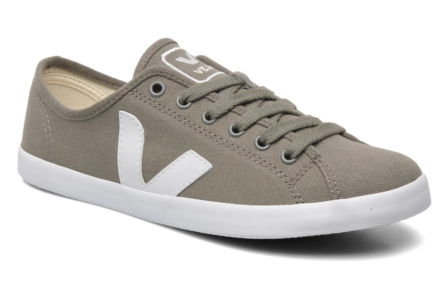 Trainers Veja Taua W Grey detailed view/ Pair view