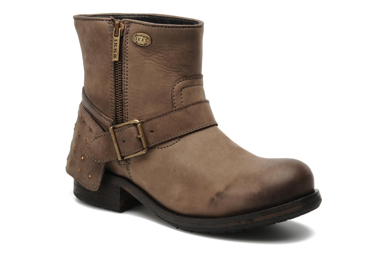 Boots en enkellaarsjes IKKS Harmione Bruin detail