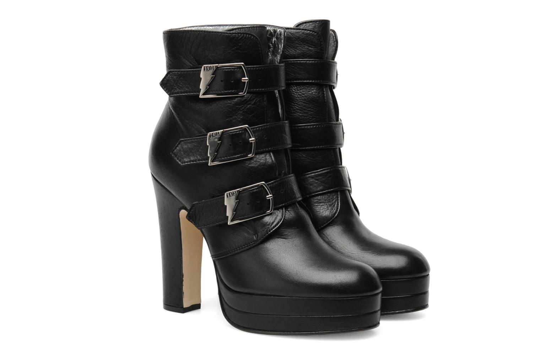 Ankle boots Terry de Havilland Joni Black 3/4 view