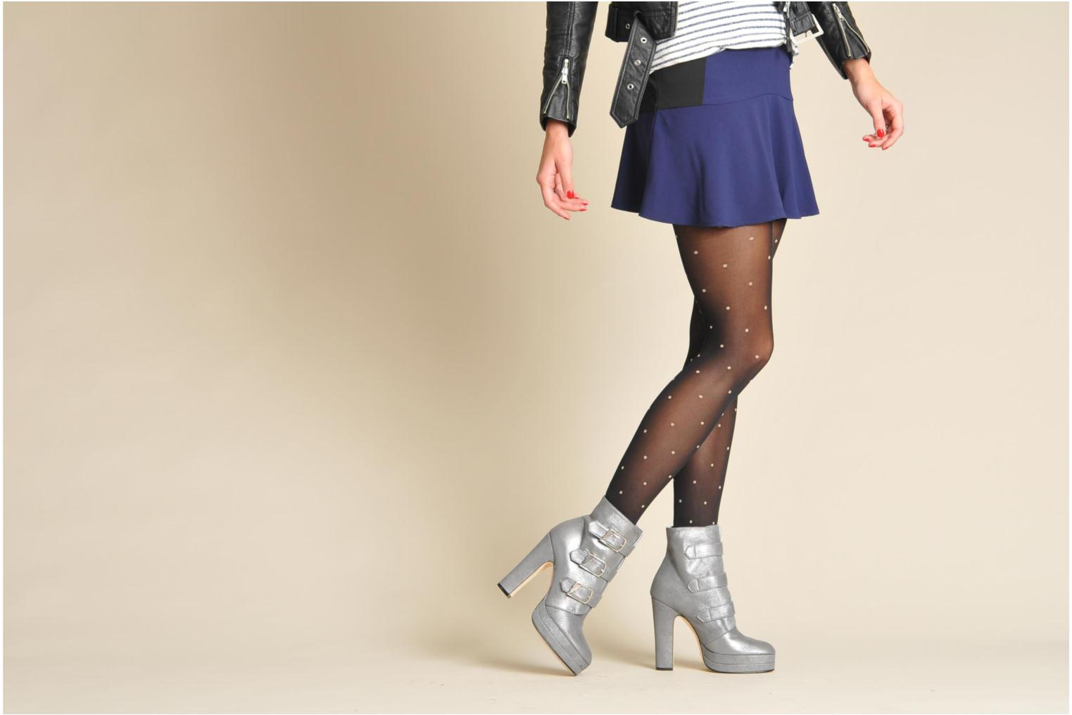 Ankle boots Terry de Havilland Joni Black view from underneath / model view