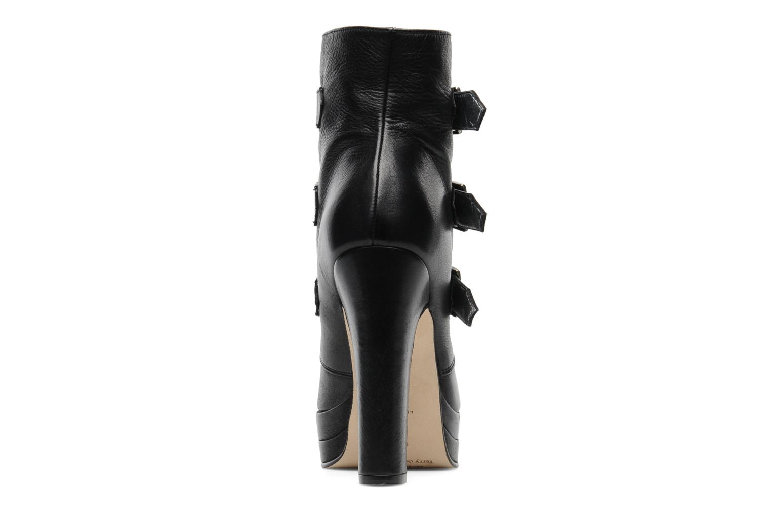 Ankle boots Terry de Havilland Joni Black view from the right