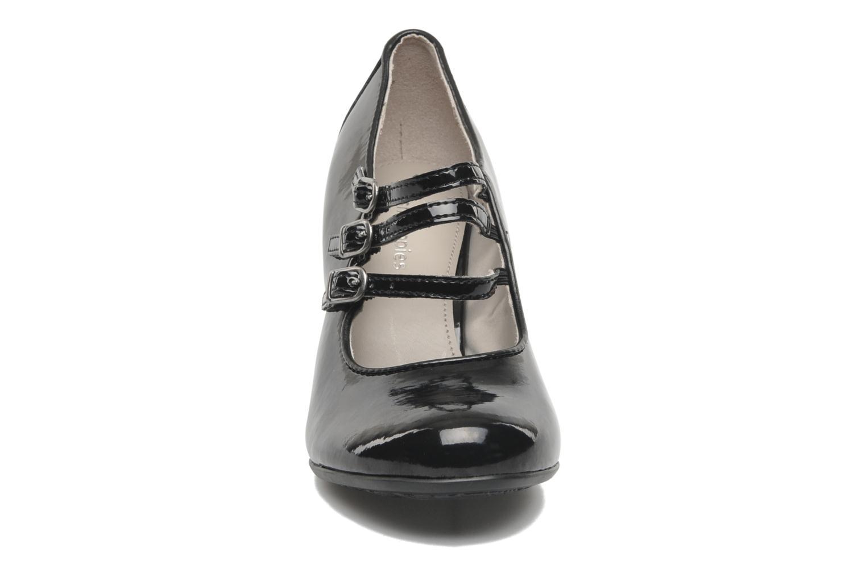 Zapatos de tacón Hush Puppies Lonna Mary Jane Negro vista del modelo