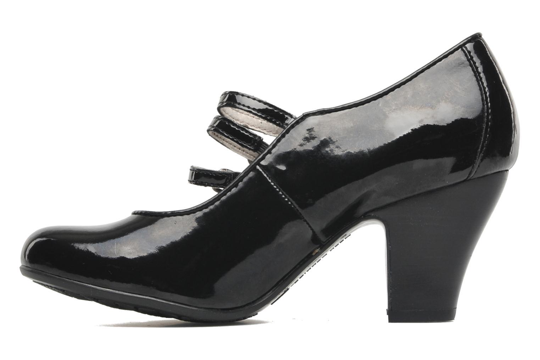 Zapatos de tacón Hush Puppies Lonna Mary Jane Negro vista de frente