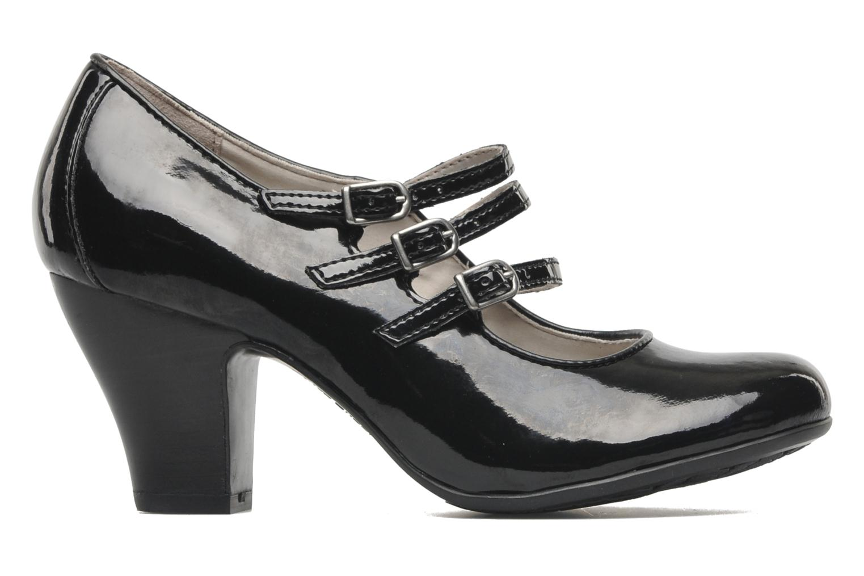 Zapatos de tacón Hush Puppies Lonna Mary Jane Negro vistra trasera