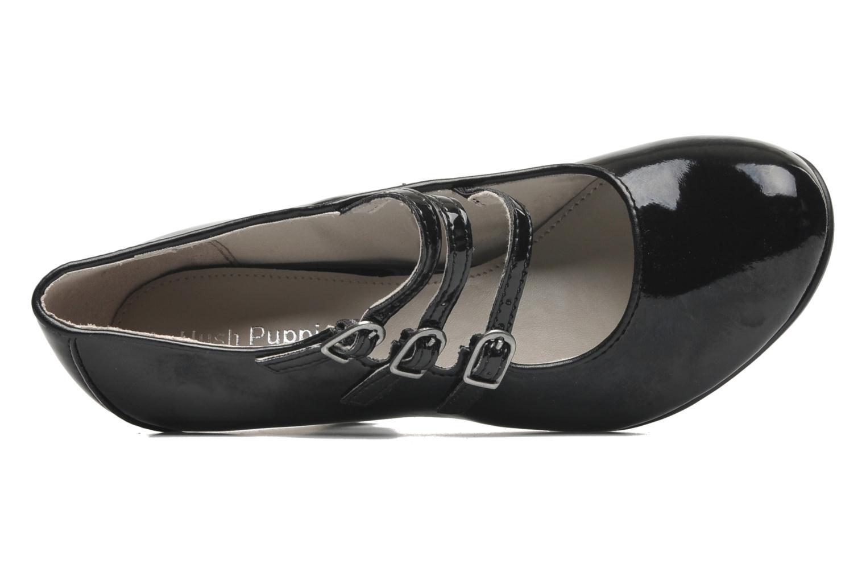 Zapatos de tacón Hush Puppies Lonna Mary Jane Negro vista lateral izquierda