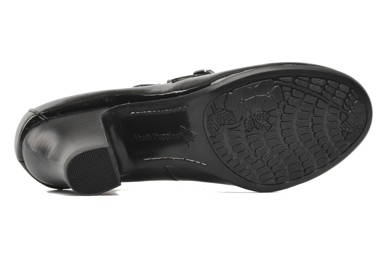 Zapatos de tacón Hush Puppies Lonna Mary Jane Negro vista de arriba