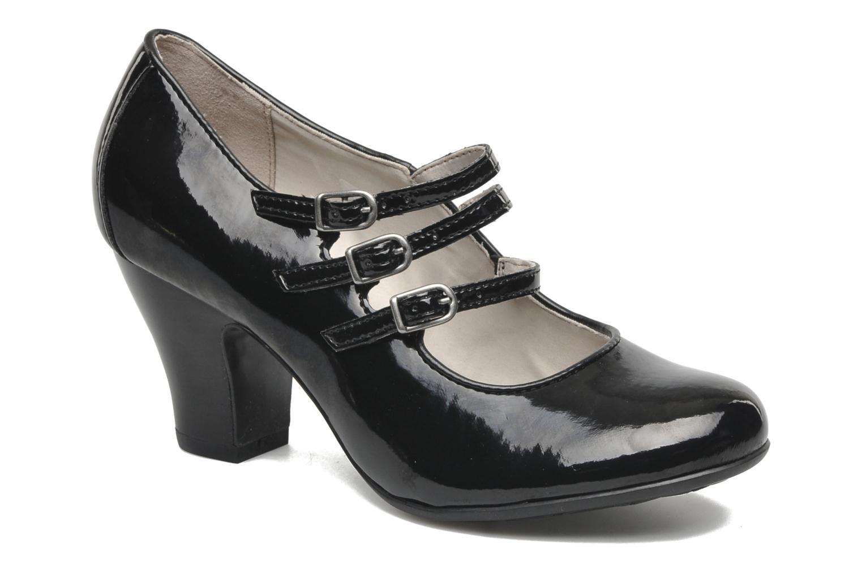 Zapatos de tacón Hush Puppies Lonna Mary Jane Negro vista de detalle / par