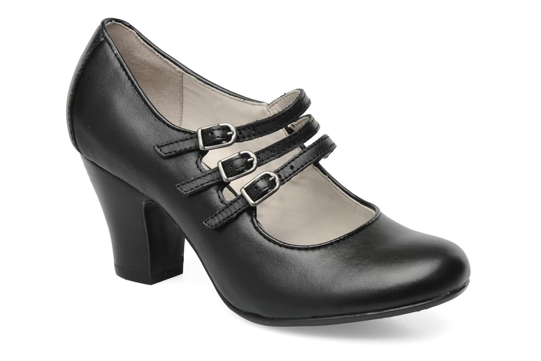 Lonna Mary Jane Black leather
