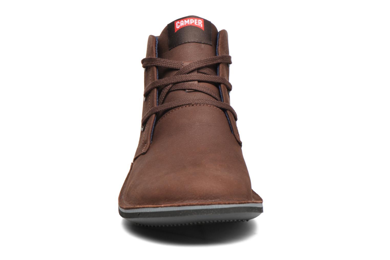 Chaussures à lacets Camper Beetle 36530 Marron vue portées chaussures