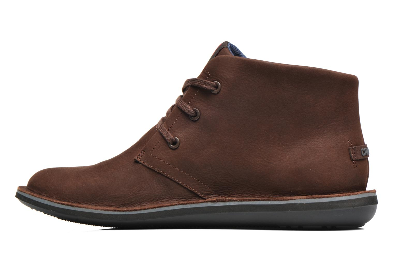 Chaussures à lacets Camper Beetle 36530 Marron vue face