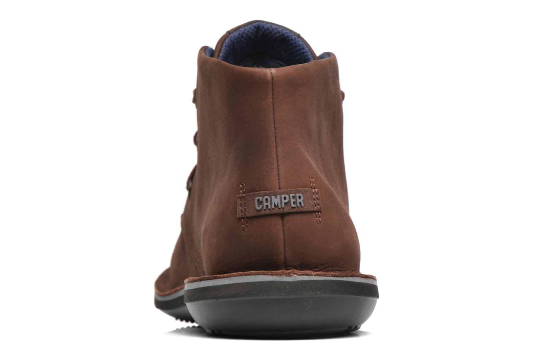 Chaussures à lacets Camper Beetle 36530 Marron vue droite