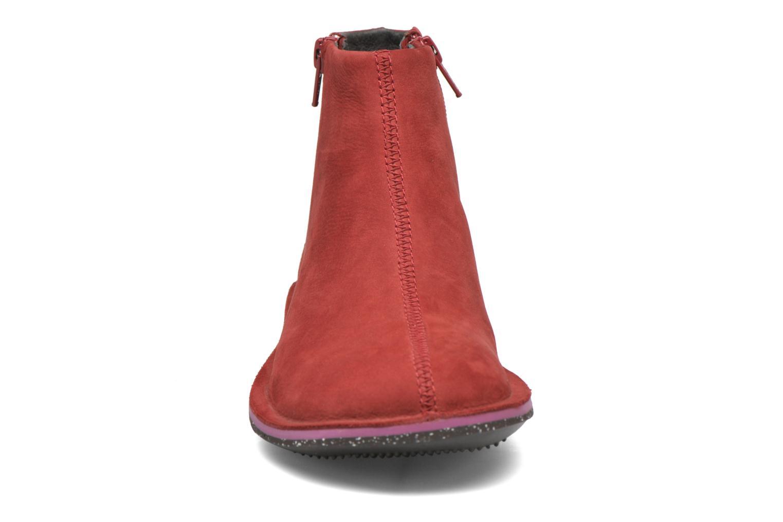 Bottines et boots Camper Beetle 46613 Rouge vue portées chaussures