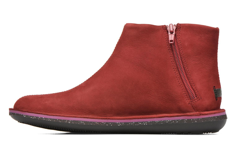 Bottines et boots Camper Beetle 46613 Rouge vue face