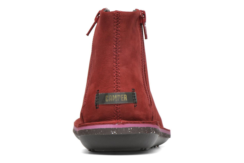 Bottines et boots Camper Beetle 46613 Rouge vue droite