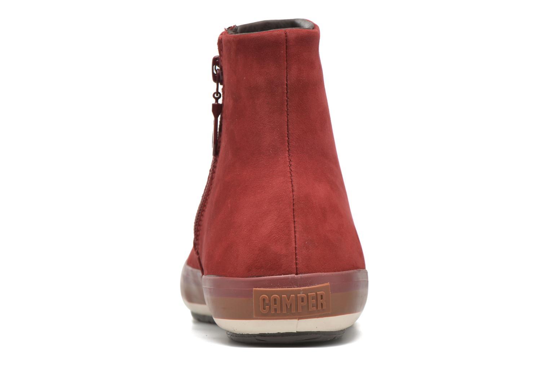 Boots en enkellaarsjes Camper Portol 46622 Rood rechts