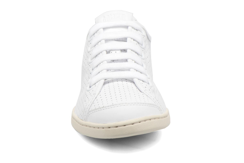 Baskets Camper Uno 21815 Blanc vue portées chaussures
