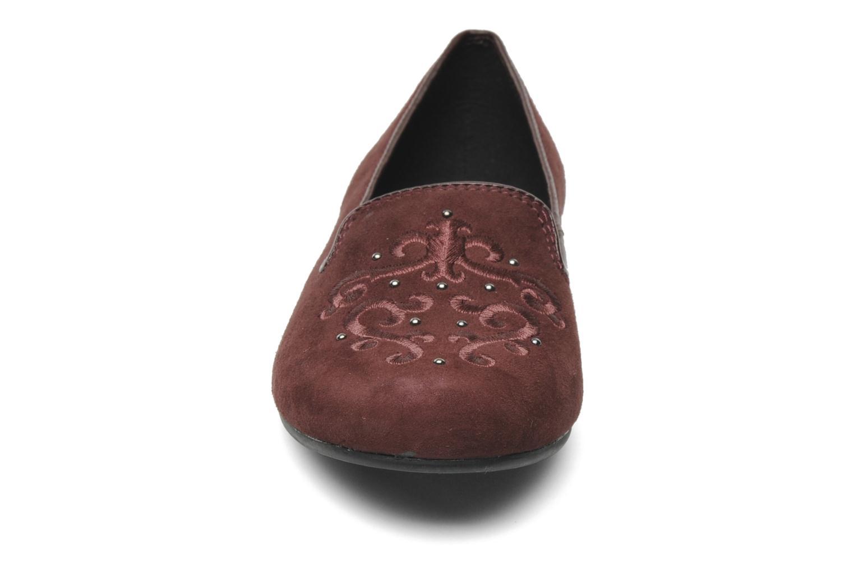 Ballerines Vagabond AIDA 3626-140 Bordeaux vue portées chaussures