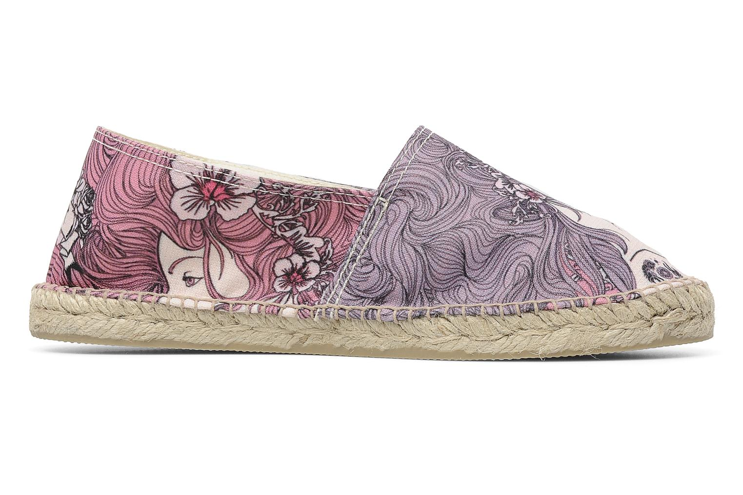 Espadrilles String Republic Berry by JWLS W Paars achterkant
