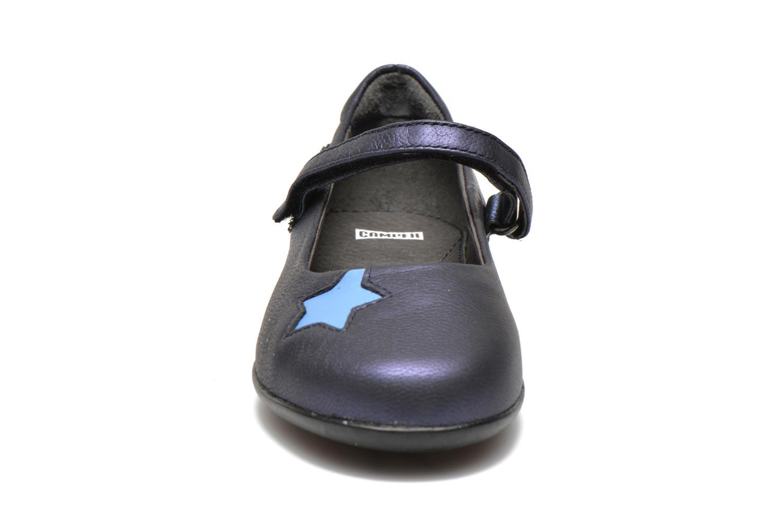 Ballerines Camper TWS Bleu vue portées chaussures