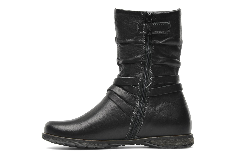 Bottines et boots Stones and Bones Senia Noir vue face