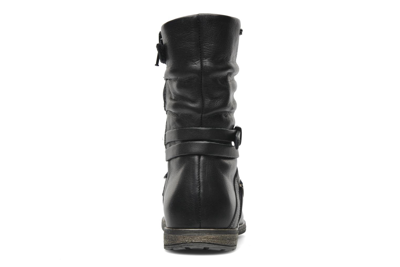 Bottines et boots Stones and Bones Senia Noir vue droite