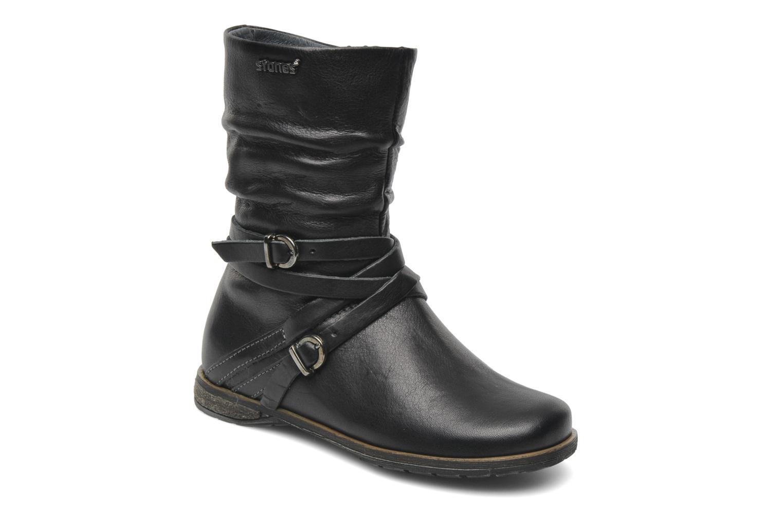 Bottines et boots Stones and Bones Senia Noir vue détail/paire