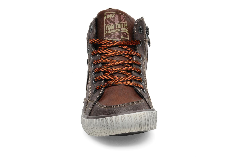 Sneaker Tom Tailor Jeremy braun schuhe getragen