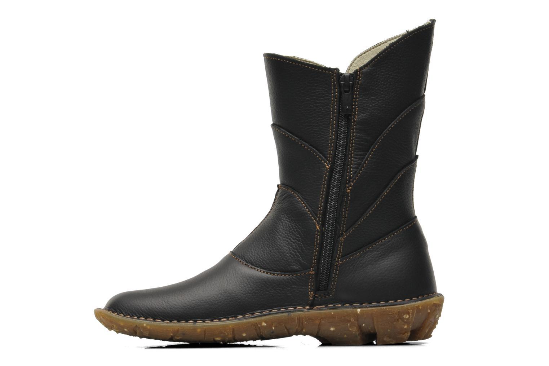 Boots en enkellaarsjes El Naturalista Savia N019 Zwart voorkant