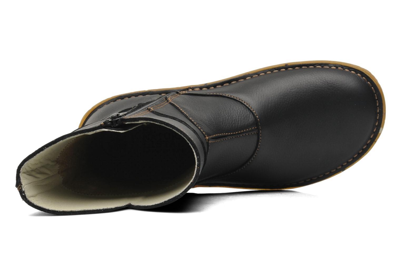 Boots en enkellaarsjes El Naturalista Savia N019 Zwart links