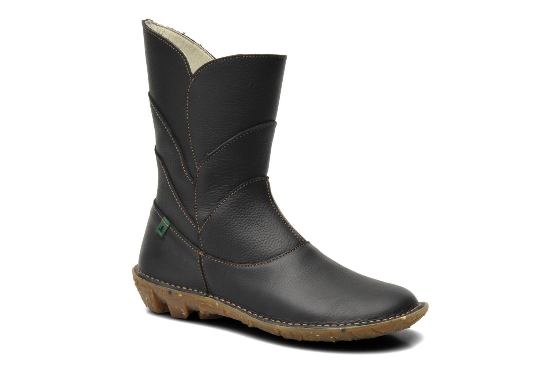 Boots en enkellaarsjes El Naturalista Savia N019 Zwart detail