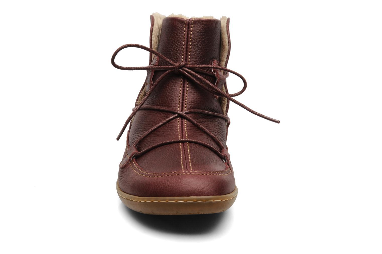 Bottines et boots El Naturalista Viajero N265 Bordeaux vue portées chaussures