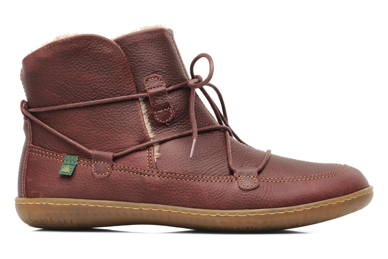 Bottines et boots El Naturalista Viajero N265 Bordeaux vue derrière