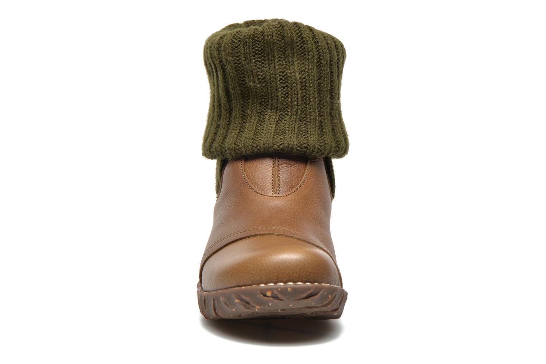 Bottines et boots El Naturalista Iggdrasil N097 Vert vue portées chaussures