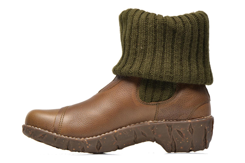 Boots en enkellaarsjes El Naturalista Iggdrasil N097 Groen voorkant
