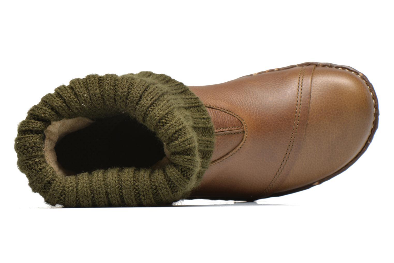 Bottines et boots El Naturalista Iggdrasil N097 Vert vue gauche