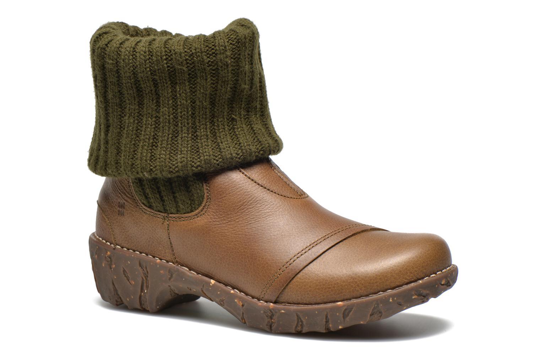 Boots en enkellaarsjes El Naturalista Iggdrasil N097 Groen detail