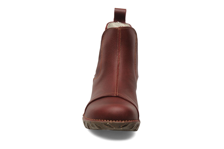 Bottines et boots El Naturalista Iggdrasil N158 Bordeaux vue portées chaussures