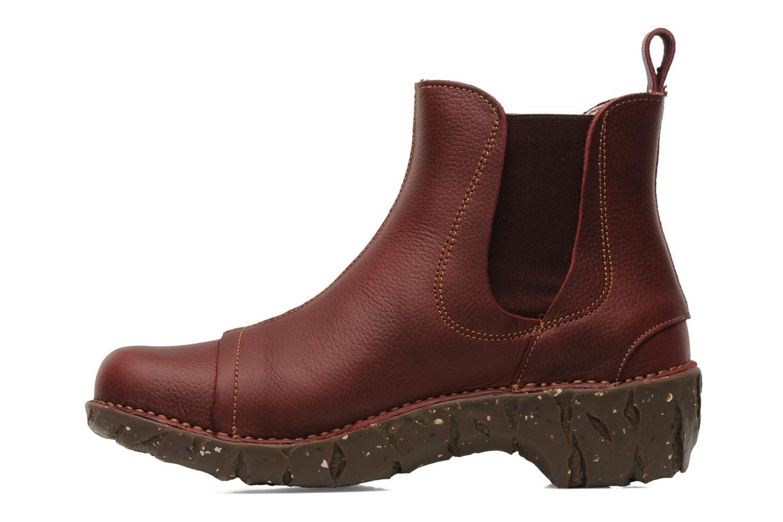 Bottines et boots El Naturalista Iggdrasil N158 Bordeaux vue face