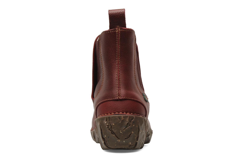 Bottines et boots El Naturalista Iggdrasil N158 Bordeaux vue droite