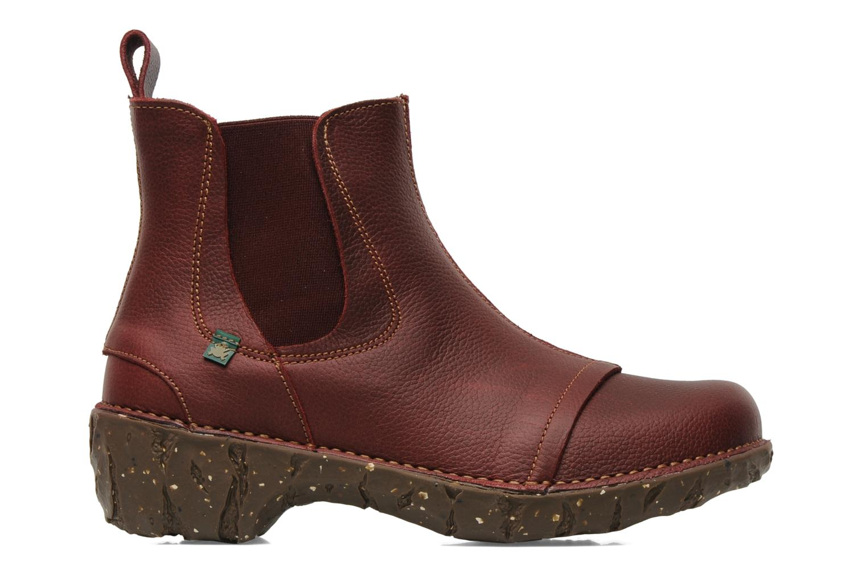 Bottines et boots El Naturalista Iggdrasil N158 Bordeaux vue derrière