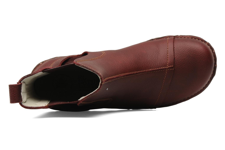 Bottines et boots El Naturalista Iggdrasil N158 Bordeaux vue gauche