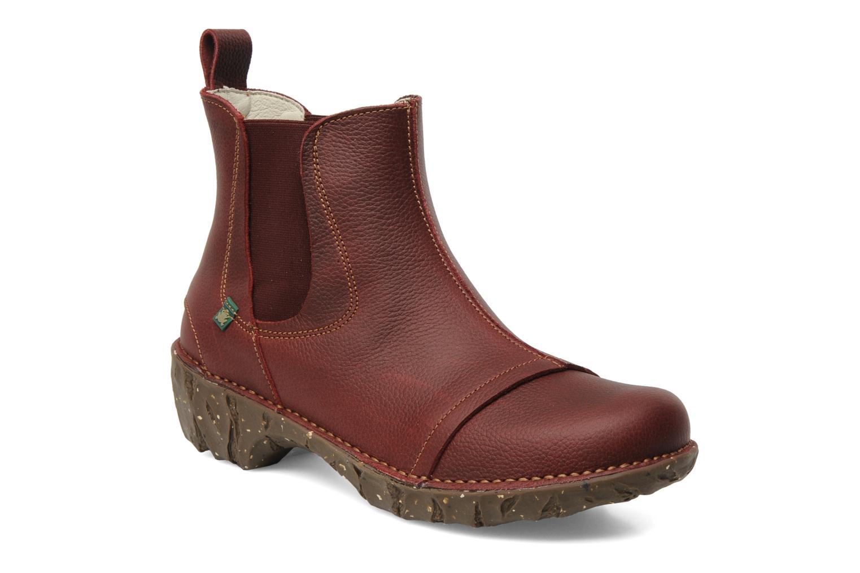 Bottines et boots El Naturalista Iggdrasil N158 Bordeaux vue détail/paire
