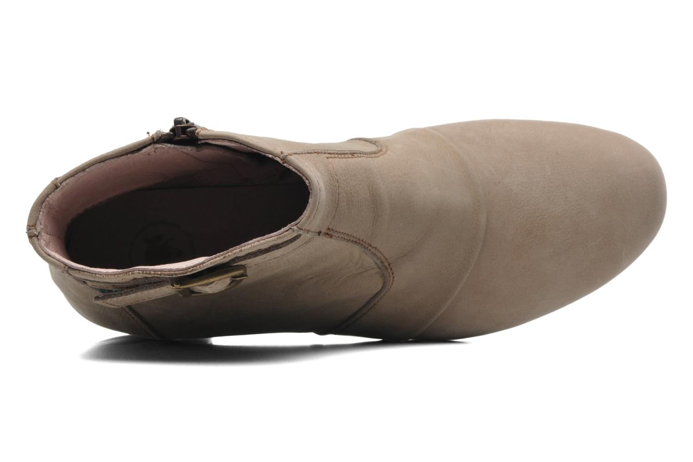 Boots en enkellaarsjes El Naturalista Forja N682 Beige links