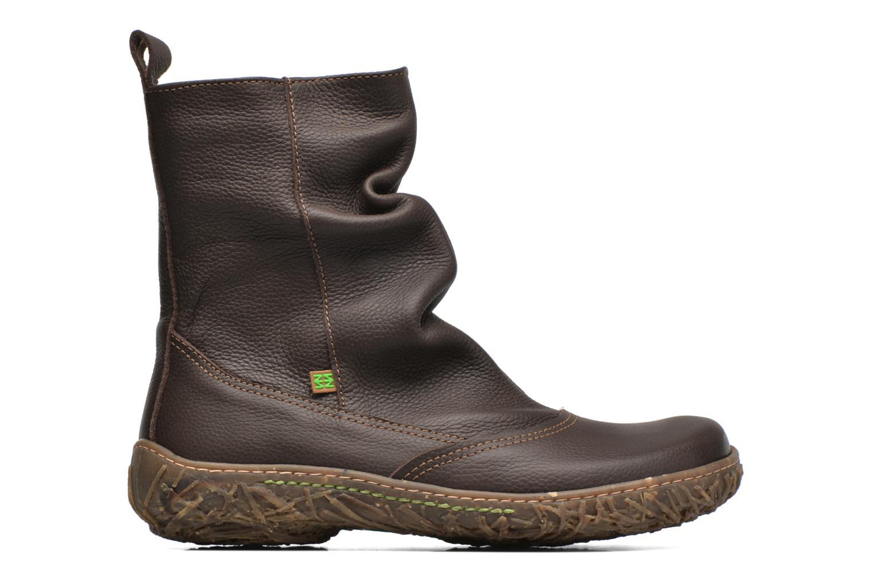 Ankle boots El Naturalista Nido Ella N722 Brown back view