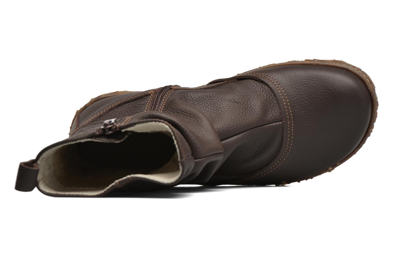 Boots en enkellaarsjes El Naturalista Nido Ella N722 Bruin links