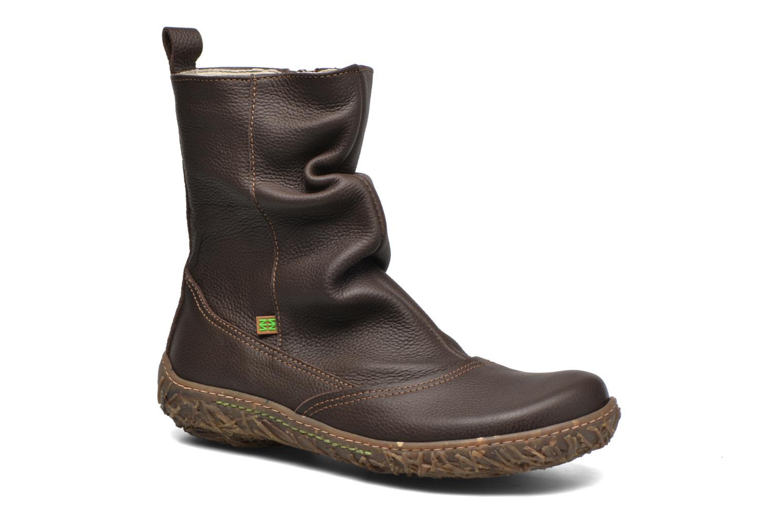 Boots en enkellaarsjes El Naturalista Nido Ella N722 Bruin detail