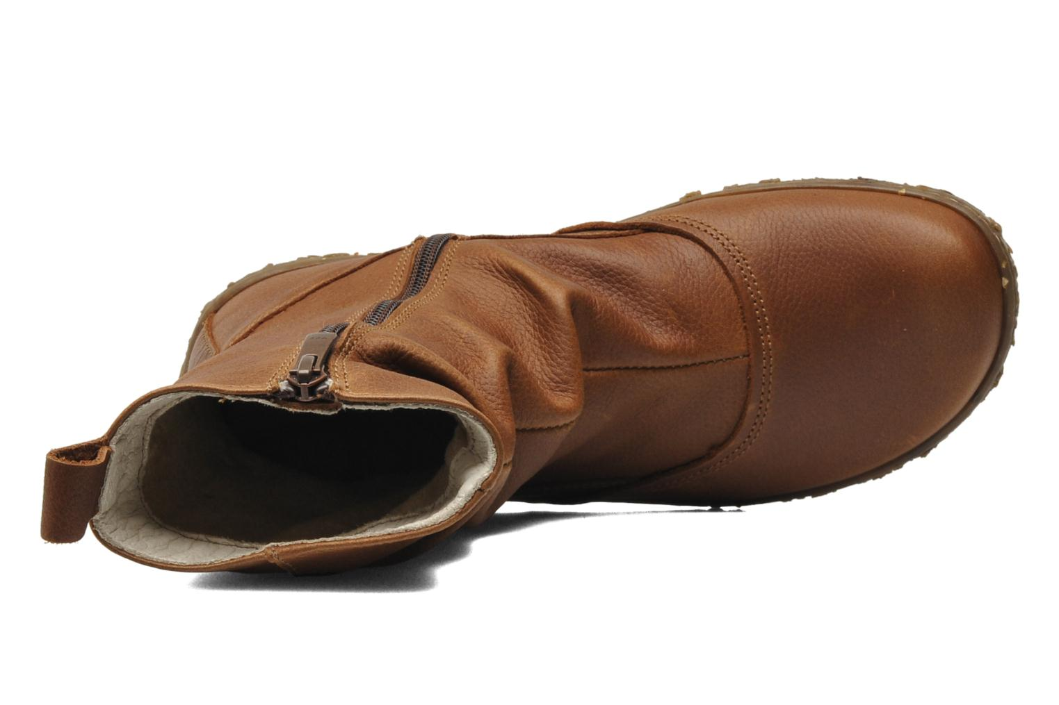 Ankle boots El Naturalista Nido Ella N722 Brown view from the left